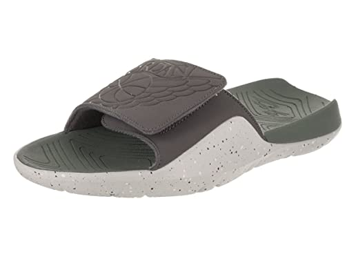 0234d9645 Jordan Nike Men s Hydro 7 Dark Grey Dark Grey Clay Green Sandal 8 Men US