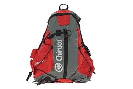 Chiruca 4598909 Mochila Outdoor, Unisex Adulto, 11 L, Rojo/Gris, L
