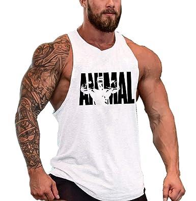 8f35129c980e2 COWBI Homme Débardeur Musculation Bodybuilding Gym Culturisme Stringer