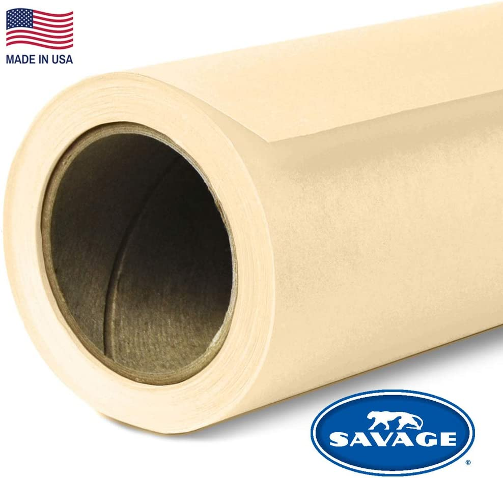 Savage Seamless Background Paper - #22 Egg Shell (53 in x 36 ft)