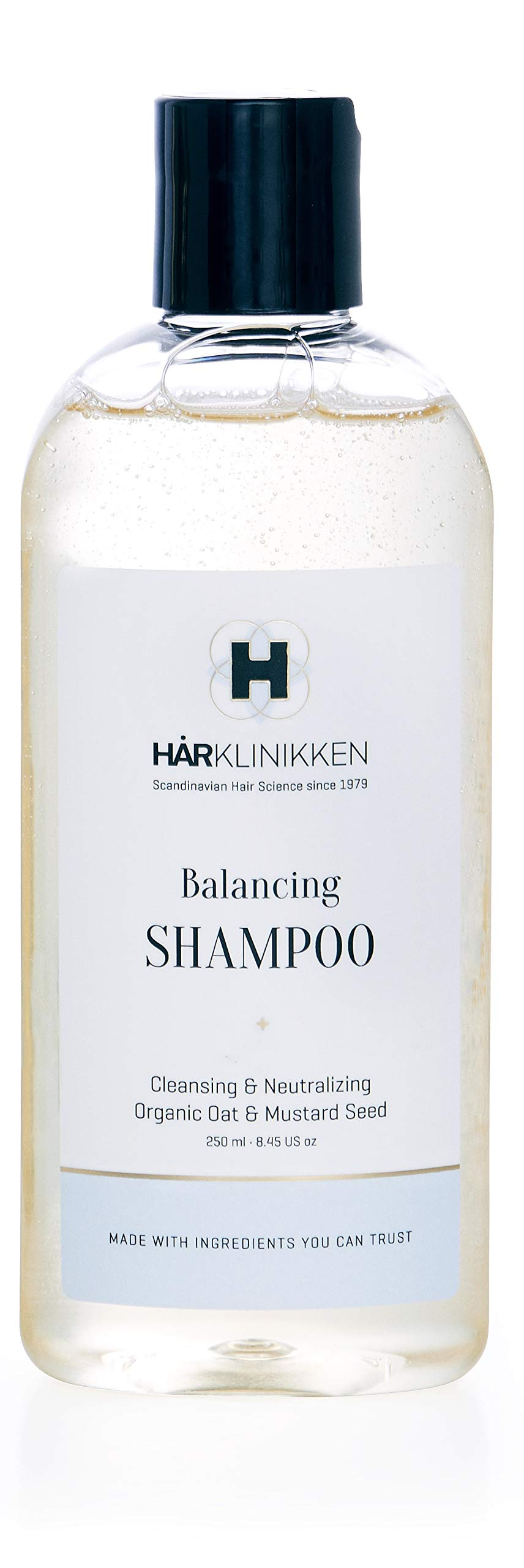 Harklinikken Advanced Cleansing & Treatment Set | 8.45 Oz. Balancing Shampoo & 8.45 Oz Restorative Shampoo | When washing daily: Alternate Product - For All Hair Types - Natural & Plant-Based by Harklinikken (Image #2)