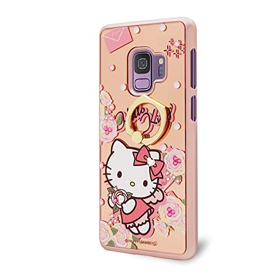 5af9b1c72 Sanrio Samsung S9 Hello Kitty Case,Crystal Swarovski,Authorized Japanes  Sanrio,Mirror Ring