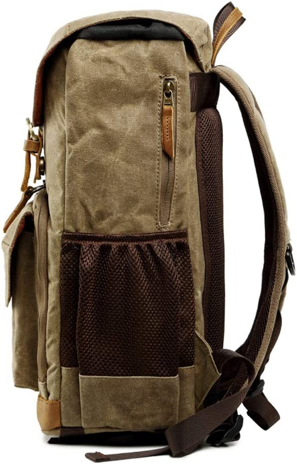 Teerwere Photography Laptop Backpack Digital Waterproof Mens and Womens Multi-Function SLR Camera Bag Micro Single Portable Backpack 3 Colors for DslCamera Lens and Accessories