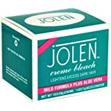 Jolen Creme Bleach Sensitive Formula Plus Aloe Vera 1oz. (Pack of 3)