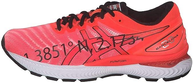 ASICS Gel-Nimbus 22, Zapatillas Deportivas para Hombre, Electric Blue/Electric Blue, 41.5 EU: Amazon.es: Zapatos y complementos