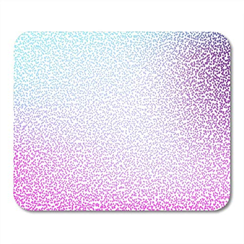 - Urmirs Mouse Pads Holographic Random Stars Pattern Opalescent Sparkling Starry Galaxy Blue Pink and Purple Mouse pad 9.5