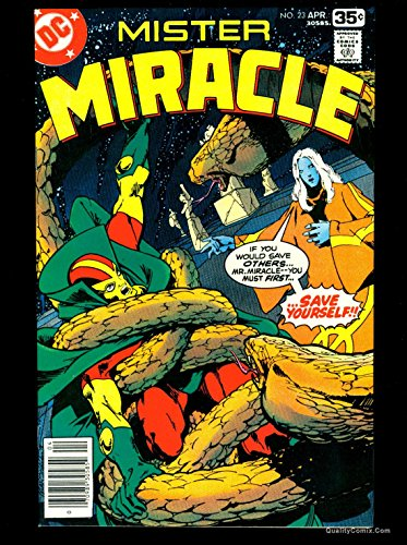 Mister Miracle #23 NM+ 9.6 Tongie Farm Collection Pedigree