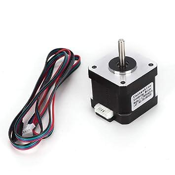Accesorios para impresoras 3D Wocume 17HS4401S Motor Paso a ...
