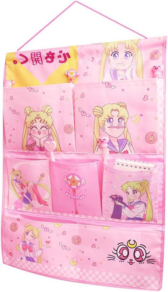 Kerr's Choice Wall Door Closet Hanging Storage Bag Organizer Cute Nursery Room Decor Room Storage Gift for Girls Women