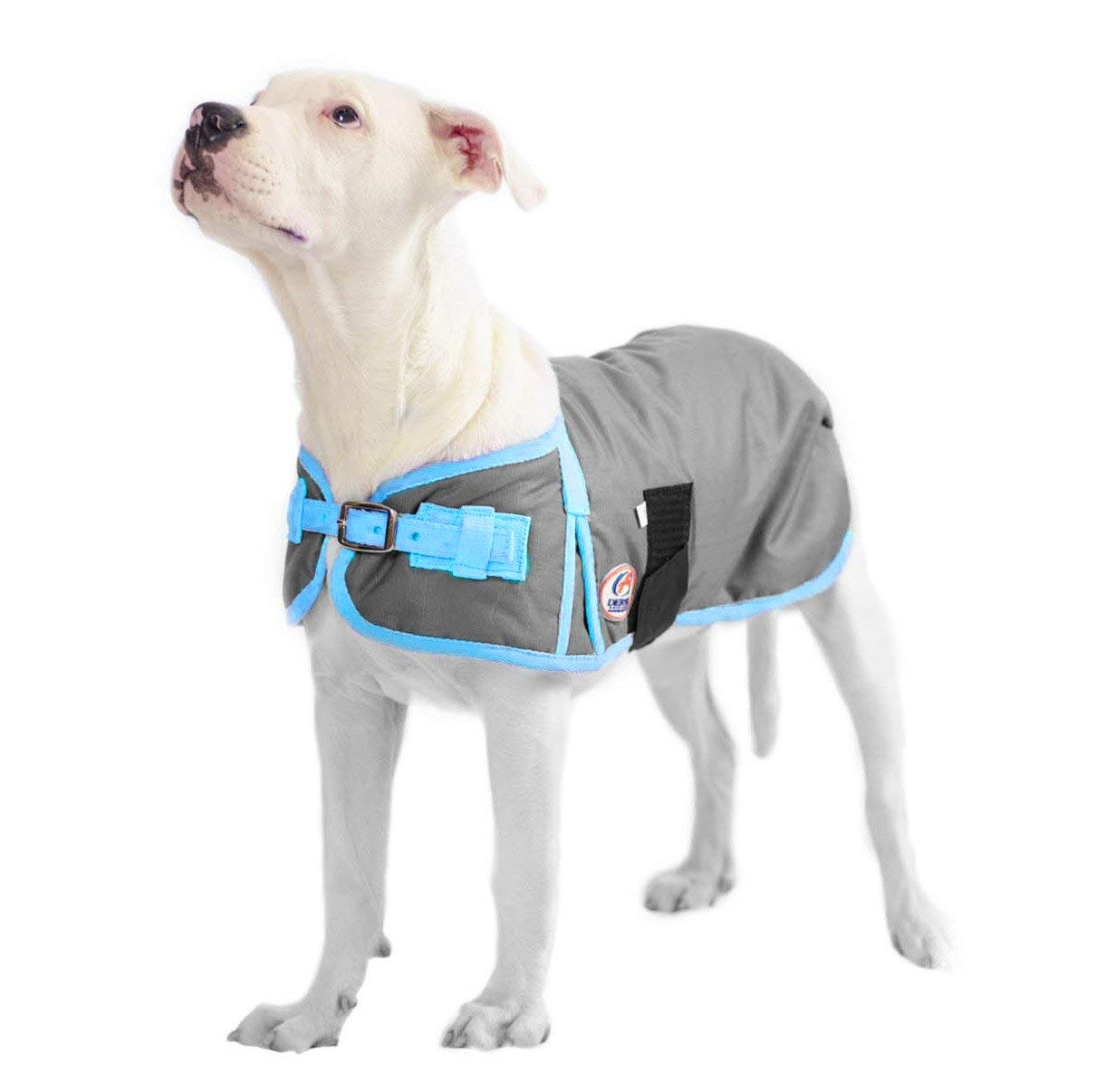 Derby Originals 600D Waterproof Dog Coat Insulated with 1 Year Limited Warranty 80-8125BK-SM