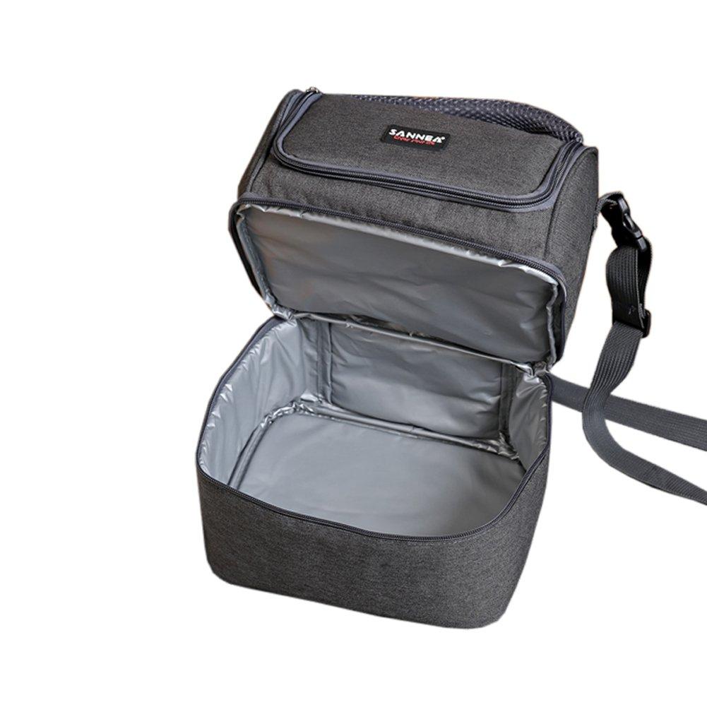 bolsa de refrigerador con aislamiento de almuerzo para T/érmica Almuerzo Fiambrera Isotermica Alimentos Bolsa de Aislada