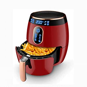 Air Fryers for Home Use Digital Air Fryer W/Flat Oil-Less Touch Screen AirFryerNon-Stick Dishwasher-Safe BasketFast Healthier Food60 Min Timer & Auto Shut Off2.6Liter MZXDX