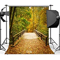 Autumn Backdrop Golden Leaves Photography Background 10x10ft photographic Backdrop Studio Photo Prop 10744