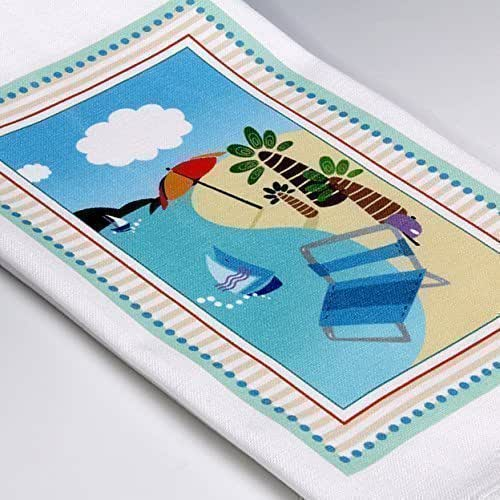 Amazon.com: Personalized Hand-printed Beach-themed Kitchen