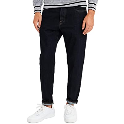 American Eagle Mens 4608971 Relaxed Taper Selvedge Raw Jean, Raw at Men's Clothing store