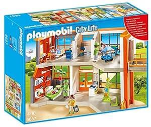 Playmobil Furnished Children's Hospital City Life Infantil, Color, Miscelanea 6657