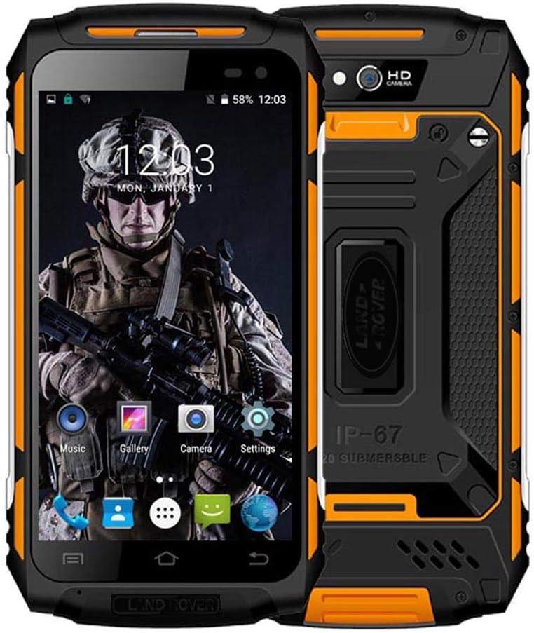 Smartphone Robusto, Discovery X2 Dual SIM 4G Desbloqueado Android 6.0 Teléfono móvil para Exteriores, 2GB de RAM + 16GB de ROM, Pantalla táctil de 5 Pulgadas Celular en Color Amarillo: Amazon.es: Electrónica