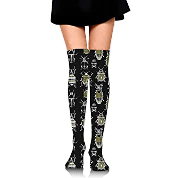 suzhouxiu Beatles Womens Knee High Socks Long Socks Sport Socks Thin For Running,Medical,Athletic,Travel: Amazon.es: Deportes y aire libre