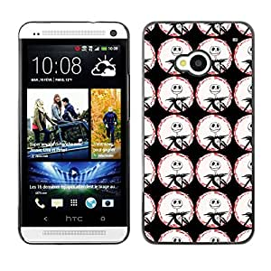 ZECASE Funda Carcasa Tapa Case Cover Para HTC One M7 No.0001994
