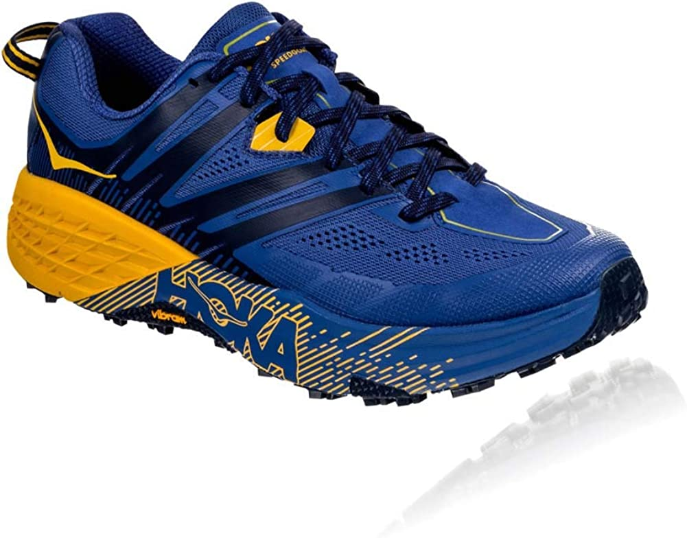 HOKA ONE ONE Mens Speedgoat 3 Textile Synthetic Trainer