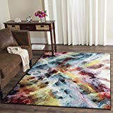 Safavieh Galaxy Collection GAL110A Vibrant Abstract Watercolor Multicolored Area Rug (3′ x 5′)