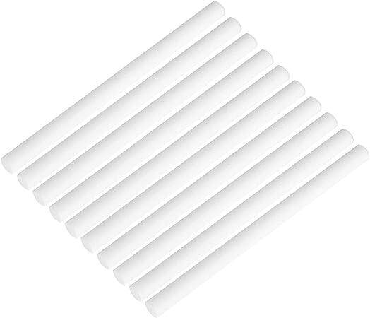 40 Pièces Humidificateur Bâtonnets coton Filtre Recharge Colle mèches de remplacement