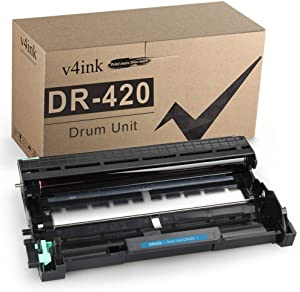 v4ink Compatible Drum Unit Replacement for Brother DR420 to use for HL-2240 HL-2240D HL-2270DW HL-2280DW MFC-7360N MFC-7460DN MFC-7860DW Brother IntelliFax-2840 2940 DCP-7060D DCP-7065DN Printer
