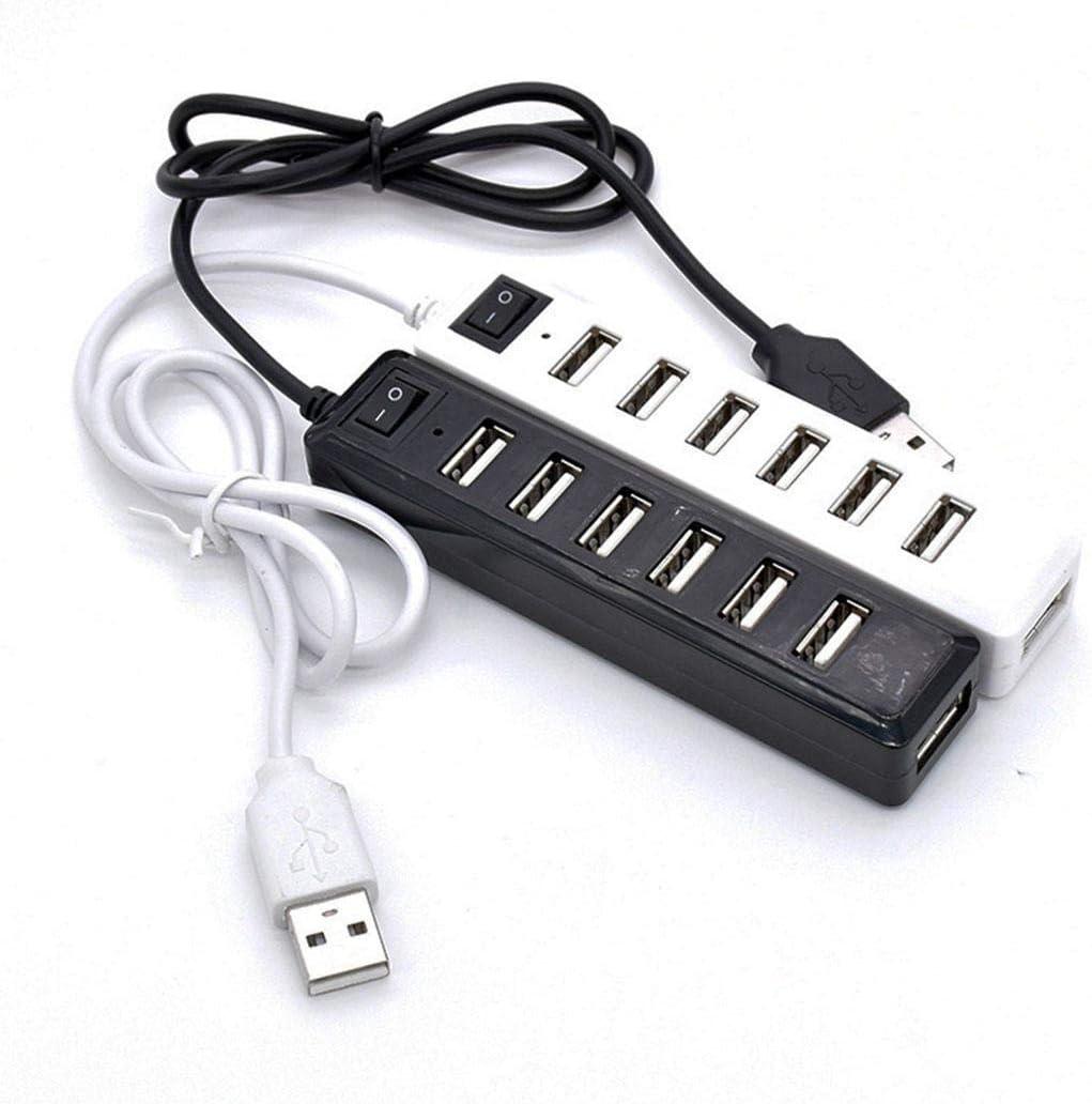mandii Multi-Function USB2.0 7-Ports Switch HUB Splitter Hubs