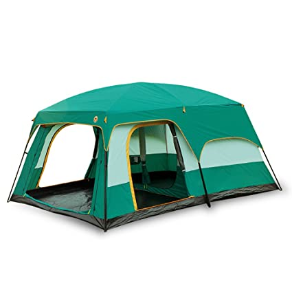 Newdora 12 People Straight Wall Cabin Tent2 Room Waterproof Tent C&ing Tent  sc 1 st  Amazon.com : waterproof tents for festivals - memphite.com