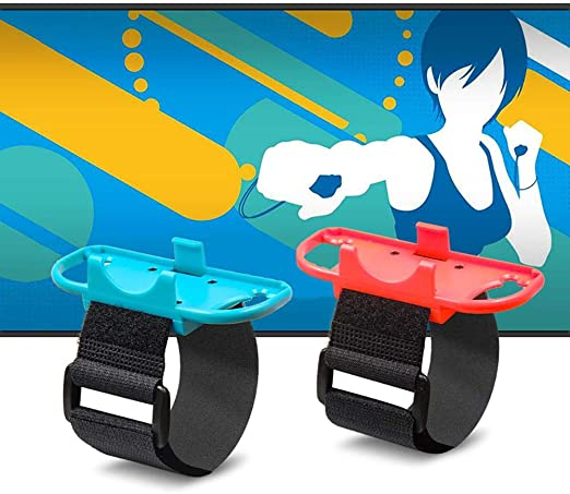 Just Dance Nintendo Switch Pulseras De Baile Ampliamente ...