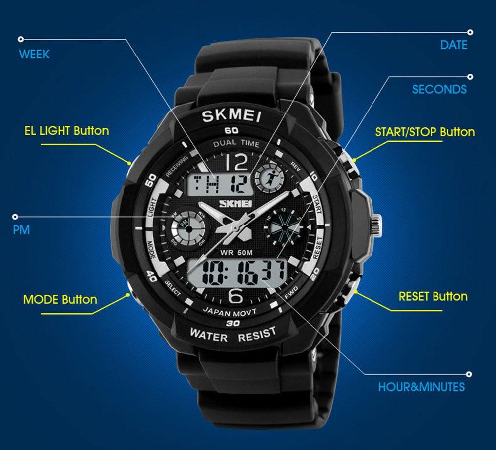 fanmis sport watch instructions