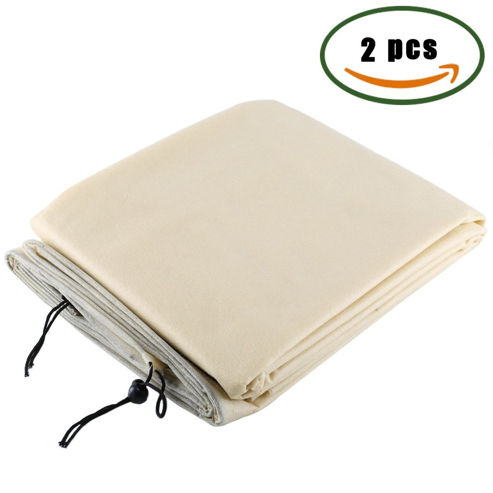 Anpatio 47u0027u0027x71u0027u0027 Frost Cloth Plant Protection Cover Bags Polypropylene Garden  Fabric