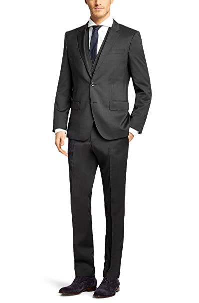 Hugo Boss Vestido con chaleco Slim-fit aposhuge3genius2 weapos TG 50 C Men Dress 50287348