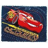 Disney's Cars 'Screeching Tires' Latch Hook Rug Kit