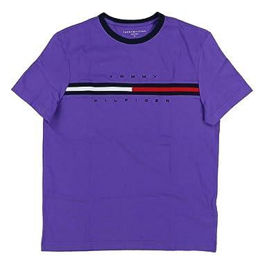 5c8cd28d1 Amazon.com: Tommy Hilfiger Mens Classic Fit Big Logo T-Shirt: Clothing