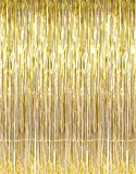 Best Props - Photo Booth Backdrop Gold Fringe Curtains 3×10ft,Konsait Photo Review