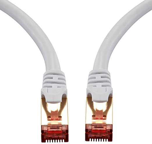 60 opinioni per IBRA Cavo di rete 1m- Cat 7 Cavo Ethernet Gigabit | Cavo patch LAN RJ45 | S/STP