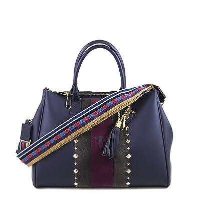 Amazon Bag E Borse Tote Blondie L Scarpe it Jeans Trussardi Blu gP14Y