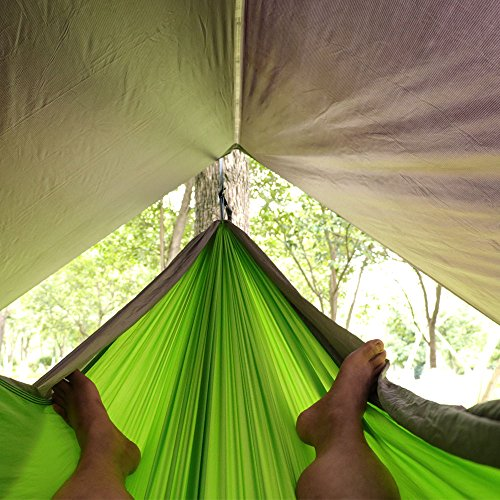 Hammock Rain Fly u2013 Tent ... & Hammock Rain Fly u2013 Tent Tarp for Camping. Essential Survival Gear ...