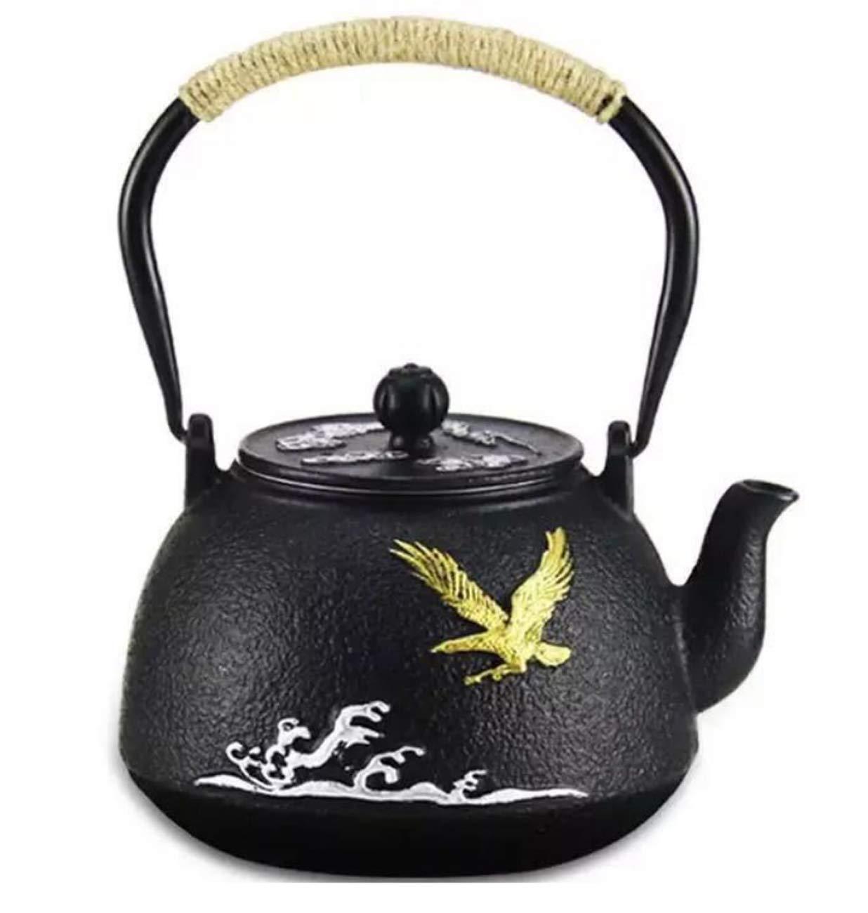 Kessel Haushalt Gekocht Tee Gebraut Tee Iron Pot 1,2 L