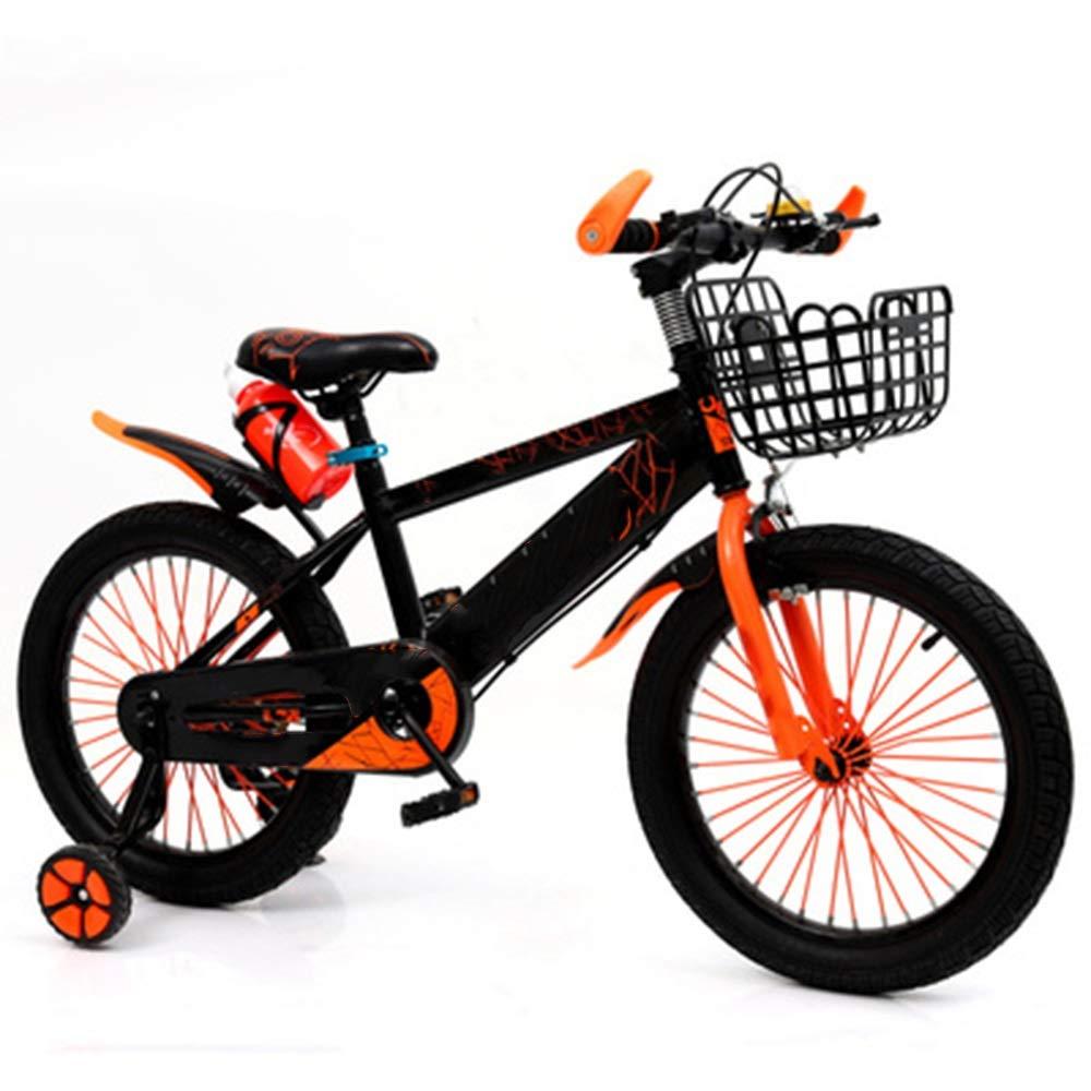 激安超安値 Axdwfd 子ども用自転車 キッズバイク子供用自転車トレーニングホイール12 B07PSF37QF/14/16/18インチの男の子と女の子のサイクリング、29歳の子供に最適黄赤青 Orange 14in Orange 14in B07PSF37QF, アビライトショップ:dcea53bf --- senas.4x4.lt