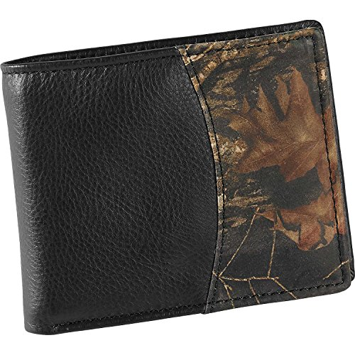 Mens Black Leather Billfold - 7