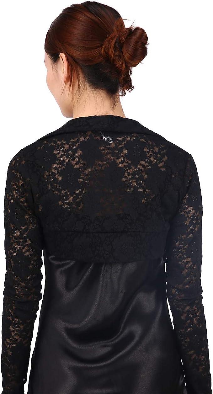 Stretch chiffon long black frill sleeves #shrug #bolaro #cardigan #party dress #christmas dress #long sleeves #backless #little black dress