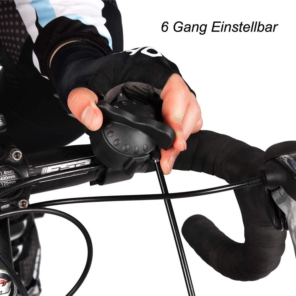Deuter interior bicicleta estática, portátil resistencia magnética bicicleta ejercicio rueda soporte con reducción de ruido, Negro: Amazon.es: Deportes y aire libre