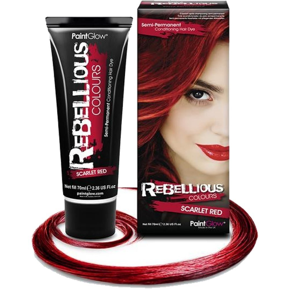 Amazon 70ml Scarlet Red Semi Permanent Hair Dye Beauty