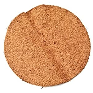Panacea 88587 Round Coco Fiber Replacement Liner, 22-Inch, Poly Bagged