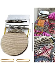 Small Loom Speedweve Type Weave Tool, Fun Mending Loom Makes Beautiful Stitching, Most Convenient Darning Loom for Mending Jeans, Socks and Clothes Quickly and Easily