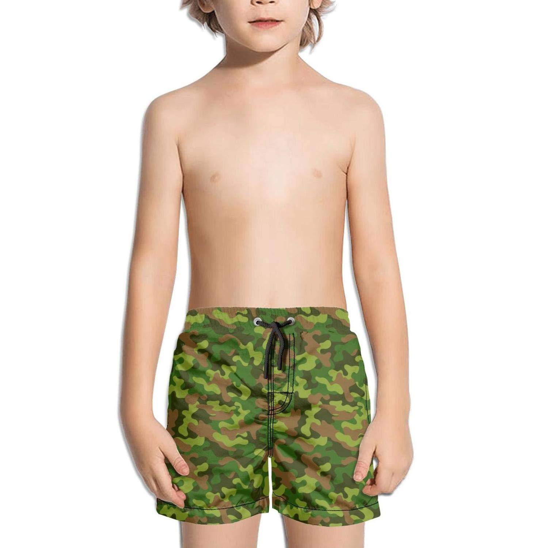 Green Bogs camo Holiday Adjustable Solid Board Swim Shorts