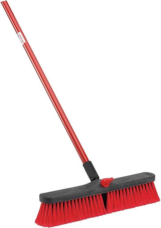 Multi Surface Push Broom Heavy-Duty Floor Sweep Broom Pack of 1