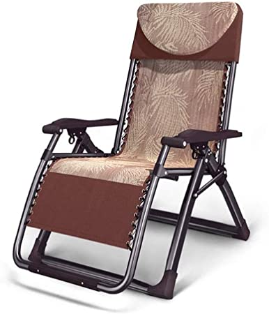 SMLZV Gravity Lounge Chair Patio réglable Reclining Chaise